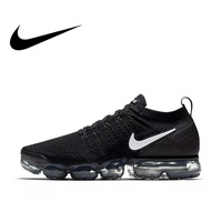 Original Authentic NIKE AIR VAPORMAX FLYKNIT 2 Men's Running Shoes Classic Athletic Designer Footwear Mesh Breathable 942842 001