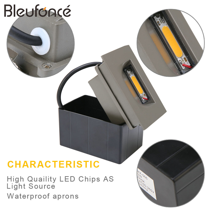 10 PCS Zunanja nepremočljiva stenska svetilka Stenska svetilka - Notranja razsvetljava - Fotografija 4