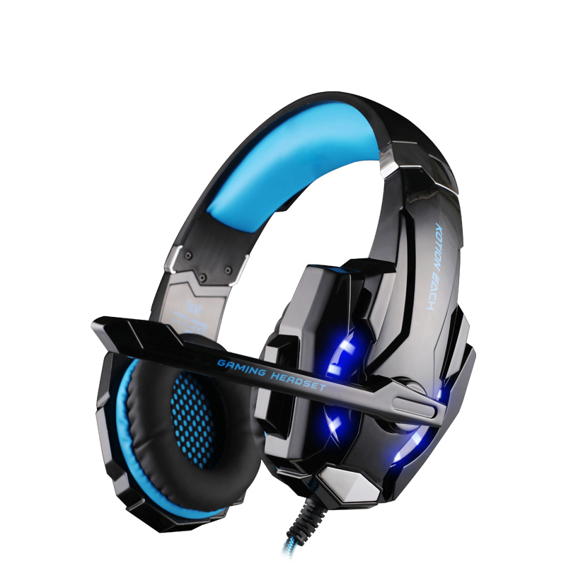 NEW G9000 Gaming Headphone wired headphones Deep Bass Stereo Computer Game Headset LED Light with Mic Gamer