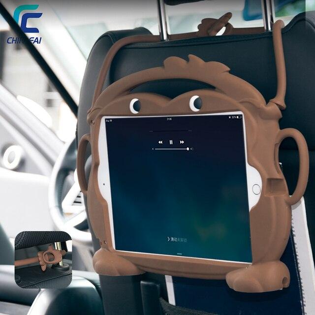 CHINFAI 1:1 dành cho iPad Air 1 2 Pro 9.7 Kid Thân Thiện Mang Theo cho iPad 2018 2017 A1822 A1893 Có Thể Rửa Được chống sốc Dẻo Silicone Ốp Lưng