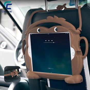 Chinfai 1:1 Kid Friendly Carry Case para iPad 2018 2017 A1822 A1893 Lavável Silicone À Prova de Choque Stand Case para iPad Air pro 9.7