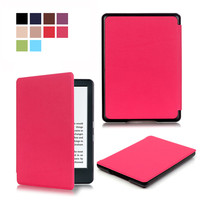 PU Leather Smart Cover Case For Amazon New Kindle 8 8th 2016 Generation Gen Fundas Version