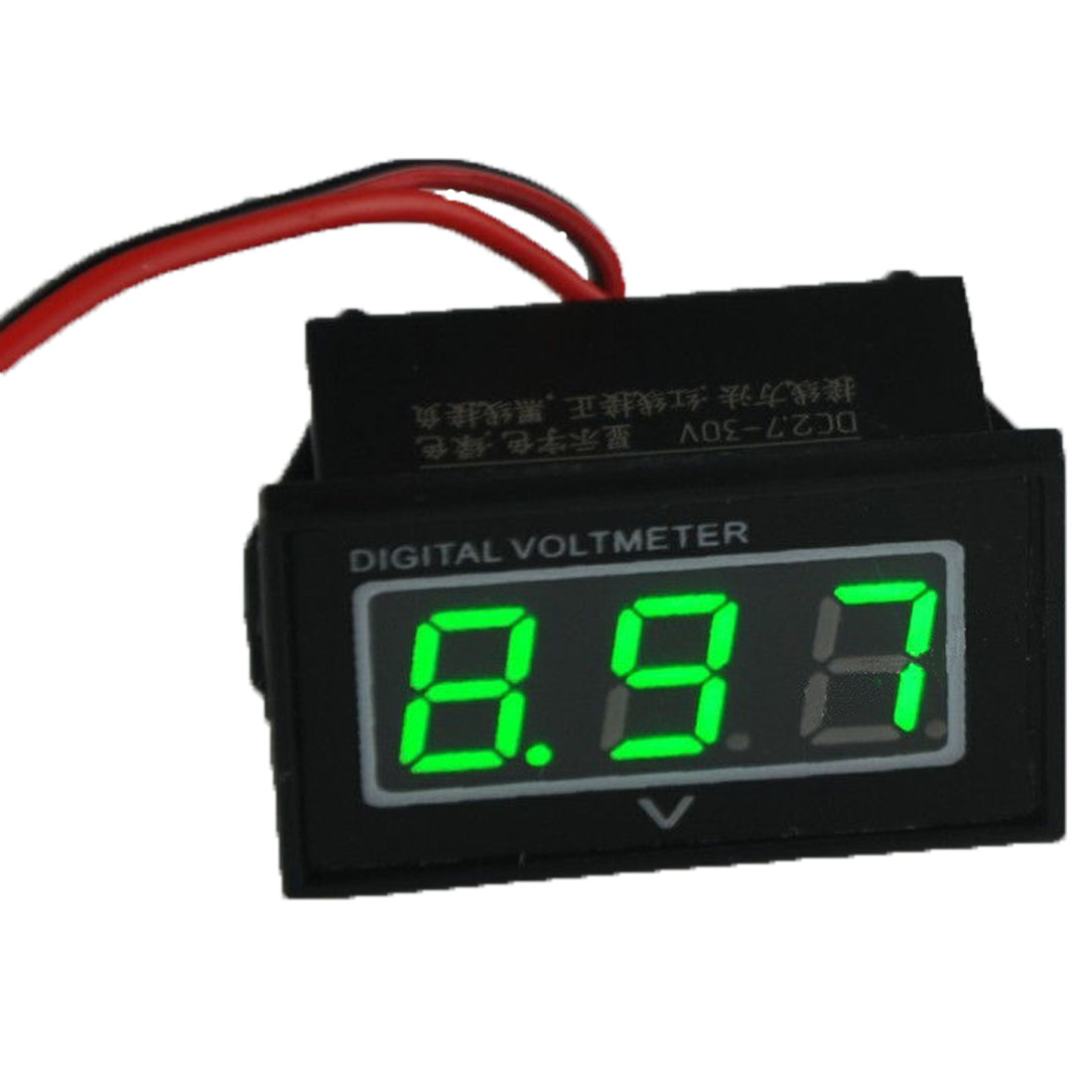 2016 tester car voltmeter new green led waterproof monitor. Black Bedroom Furniture Sets. Home Design Ideas
