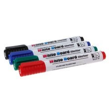 Caneta de marcador de quadro branco apagável favorável ao meio ambiente marcador de placa escola material de escritório em casa