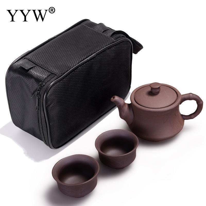 Teaware théière en céramique mode thé tasse chinois thé ensembles Kungfu thé boisson voyage Portable transporter chinois tasse cadeau