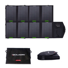 28W 19V,18V,5V Solar Energy Charger with Monocrystal silicon Panel USB,DC5.5 Ports for Laptops Mobile Phones power bank