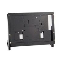 Black 7 Inch LCD Display Screen Housing Bracket For Raspberry Pi 3 LCD Acrylic Bracket for