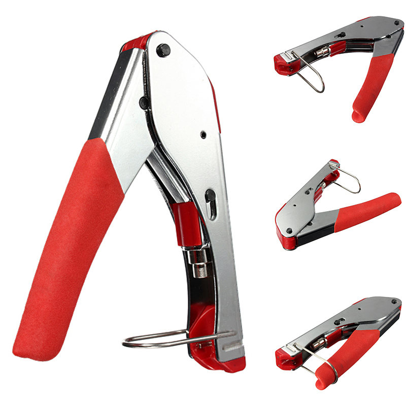 universal connector compression tool crimper for coaxial rg6 rg59 rca coax cable tools in pliers. Black Bedroom Furniture Sets. Home Design Ideas