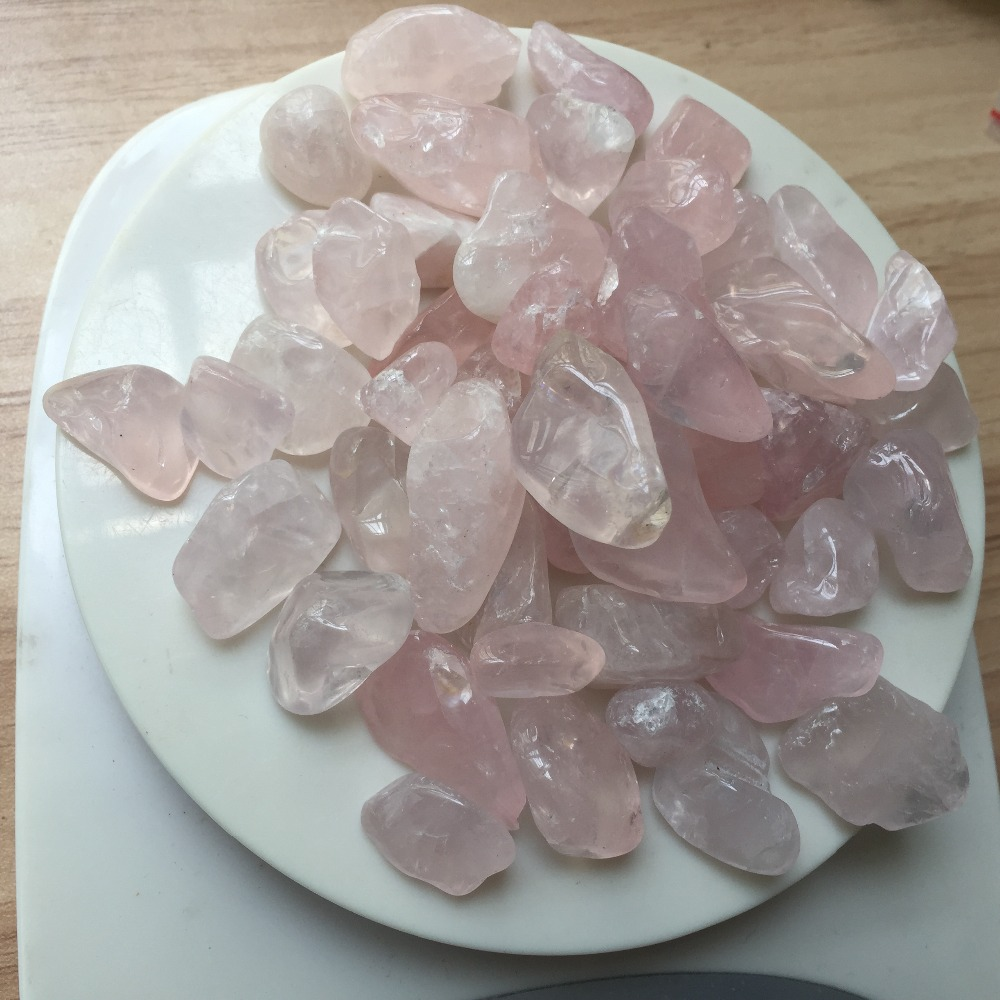 Is quartz considered a natural stone - 50pcs A Lots Natural Clear And High Quality Rose Crystal Tumbled Stone Rock Rose Quartz Crystals