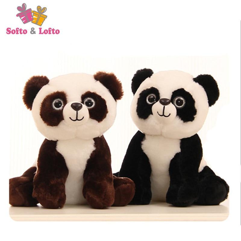 Free shipping panda bear plush animal stuffed toy friend kids children girls doll birthday party soft gift boys big small size