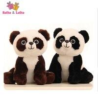 Livraison gratuite panda ours en peluche animal en peluche jouet ami enfants enfants filles poupée fête d'anniversaire cadeau doux garçons grand petit taille