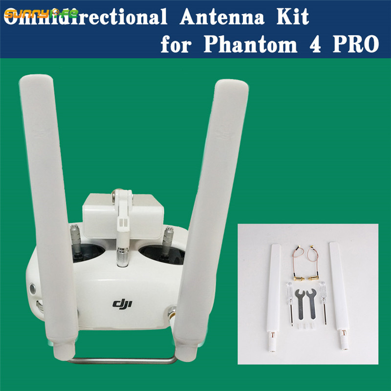 Sunnylife DJI Phantom 4 PRO Inspire2 Remote Control Refitting 5.8G Signal Booster Extended Long Range Omni-directional Antenna yuneec typhoon h480 transmitter signal antenna extended omni directional signal range for rc typhoon h480 quadcopter