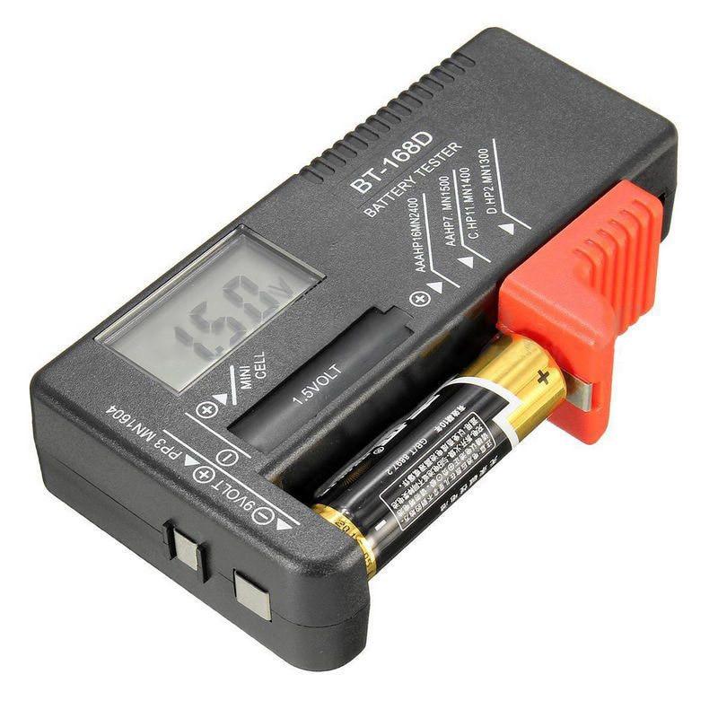 Universal BT168D Smart LCD Digital Battery Tester Electronic Battery Power Measure Checker for 9V 1.5V AA AAA Cell Battery Meter (9)