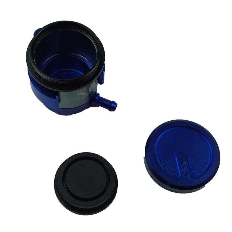 Color : Black CNC Aluminum Universal Billet Front Brake Clutch Tank Motorcycle Fluid Reservoir Oil Cup for Yamaha Honda Suzuki