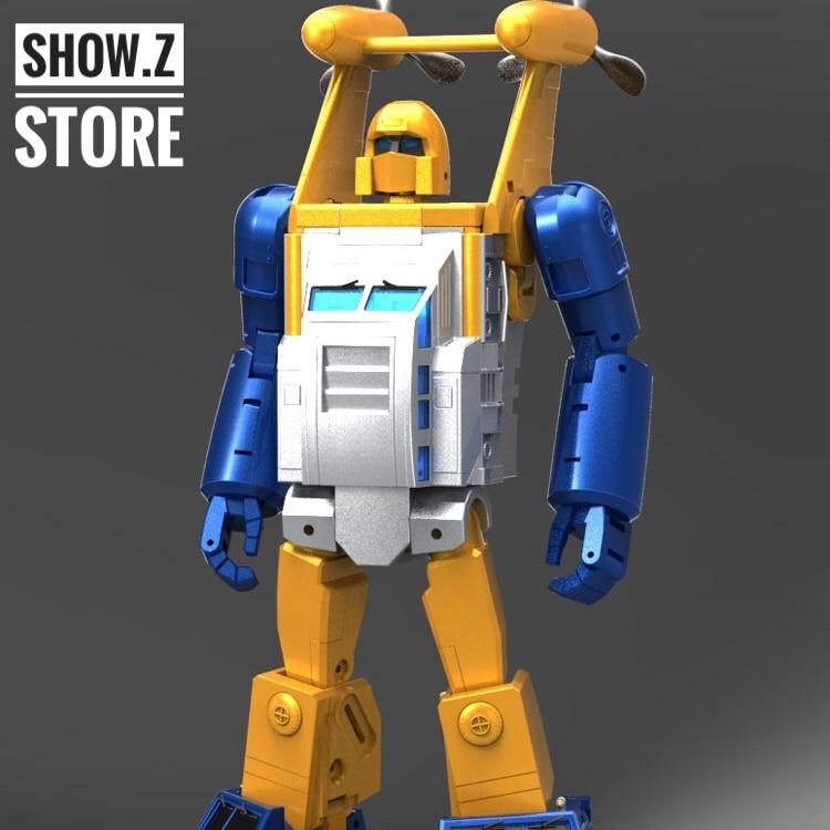 [Show.Z Store] XTransbots MX-II Neptune Seaspray MP Masterpiece Transformation TF Action Figure
