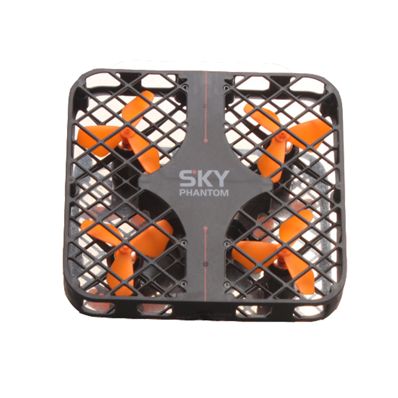 SKY PHANTOM with Gyro 3D Roll Speed Switch LED Light Protective Frame RC Mini drone No camera 2.4GHz 4CH