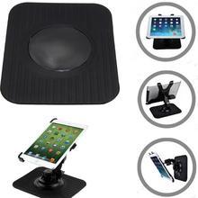 Universal Mobile Phone Bracket Dash Panel Silicone Anti-slip Mat Car GPS Navigation Black Shockproof