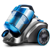 Vacuum Cleaner Home Small Mini Strong Handheld High Power Mute Vacuum Cleaner C3VC1707 Suction Sound Adjustable