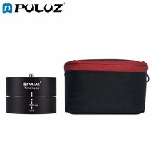цена на PULUZ Camera Time Lapse For GoPro Hero6 360 Degrees Panning Rotation 120 Minutes Smartphones Stabilizer TimeLapse For Go Pro