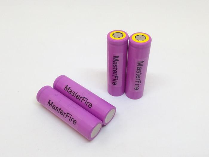MasterFire 18 unids/lote 100% Original Sanyo 3,7 V 3000mAh 18650 batería recargable células UR18650ZTA baterías de litio para antorcha