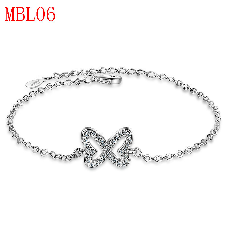 new arrive classical jewerly sliver bracelet for men couple gift MBL06