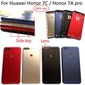 Оригинальный чехол для Huawei Honor 7C  100% оригинал  6 дюймов  задняя крышка для задней двери с аккумулятором  крышка двери + объектив с боковым ключ...