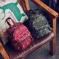 Винтаж повседневная hotsale решетке Алмаза рюкзак моды цепь сумка ofertas известный дизайнерский бренд решетки Алмаза