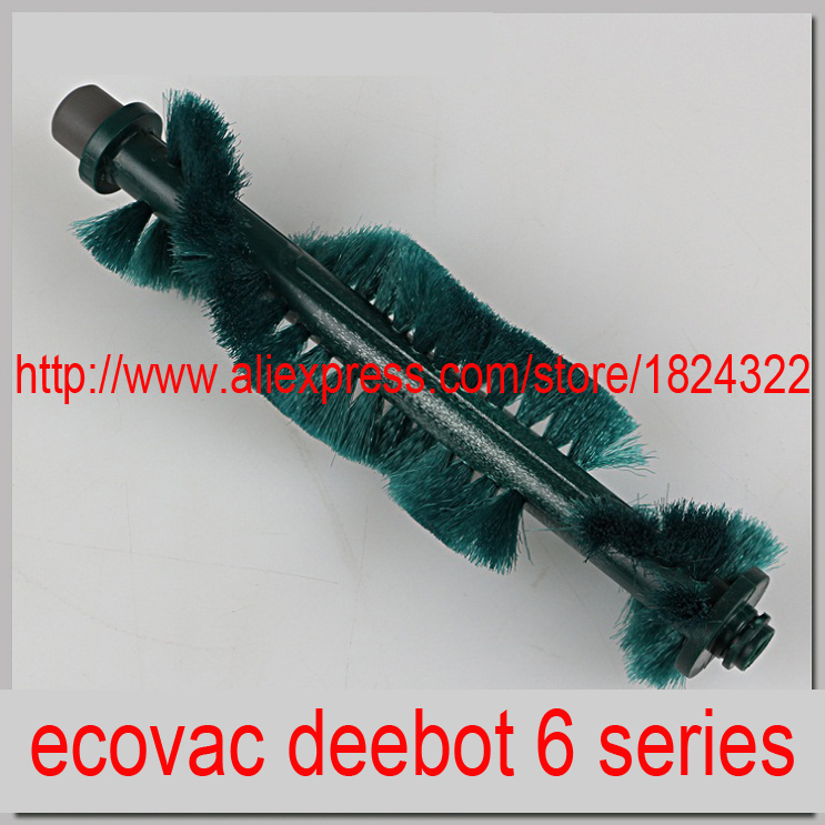 1 pcs Replacement Main Brush Agitator Brush for ecovac deebot parts 620 630 650 660 680 etc. brush for a vacuum cleaner