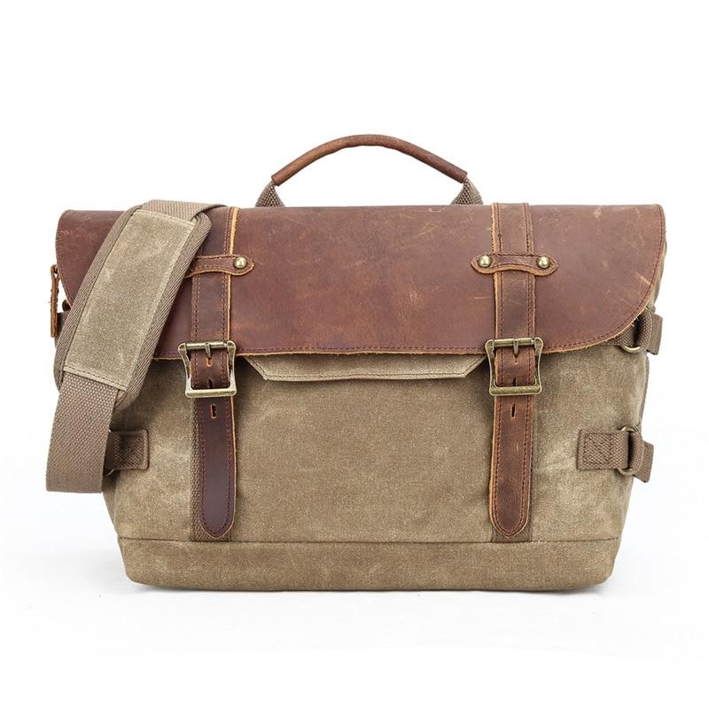 Retro Vintage Waterproof Batik Canvas Massenger Bag Shoulder Case Digital Camera DSLR Bags SLR Handbags for