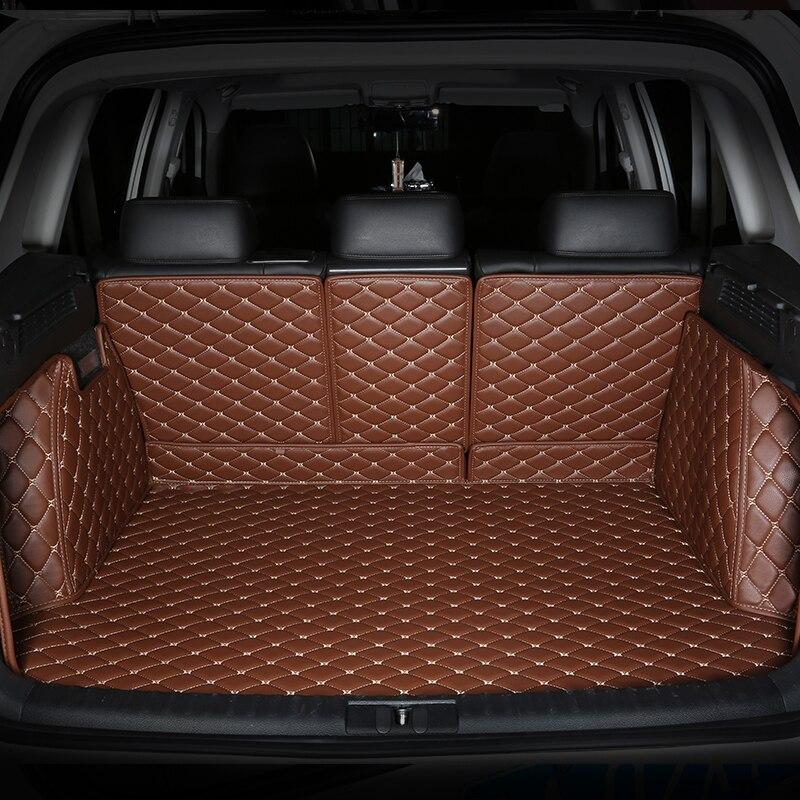Tapis de coffre de voiture spéciaux durables tous entourés pour Tesla modèle X modèle S modèle 3 la plupart des modèles 3D tapis imperméables sans odeur