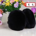 YJ Fashion Kawaii Fur Ear Muffs Women Girls 2017 Beautiful Cute Plush Earlap Autumn Winter Ultralarge Faux Rabbit Hair Ear Muffs