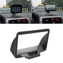Universal 7 inch Portable Anti Glare Screen Sun Shield Visor Hood For 7 inch Car GPS Navigation GPS Accessories