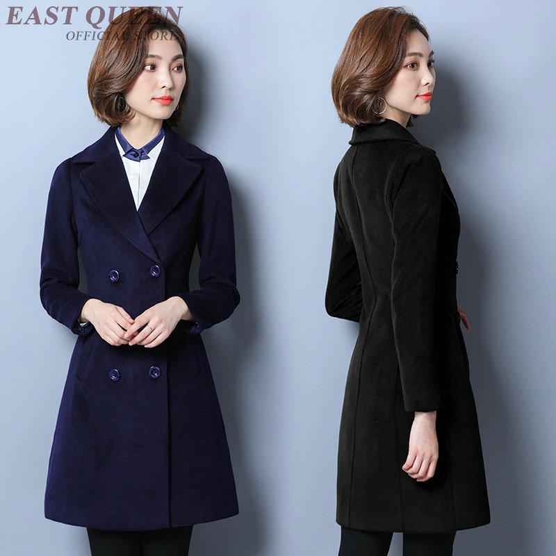Women autumn blazer long office ladies formal clothing blazer tops solid bodycon full sleeve notches business blazer DD439 F