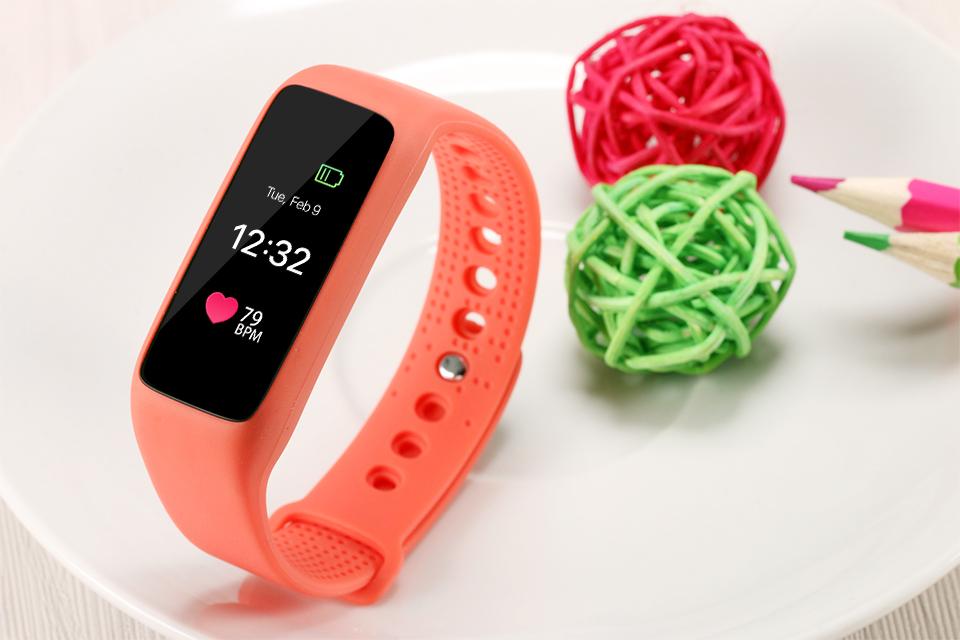 Lemfo l30t kolorowy ekran inteligentny zespół pulsometr krokomierz uśpienia fitness tracker dla andriod ios telefon 19