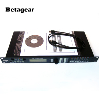Betagear 4.8SP DSP Loudspeaker System Processor 4 In x 8 Out w/ USB Live Sound Digital Audio Processor effectors dj equipment