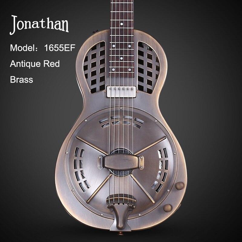 jonathan resonator guitar resophonic guitars metal body duolian guitar in guitar from sports. Black Bedroom Furniture Sets. Home Design Ideas