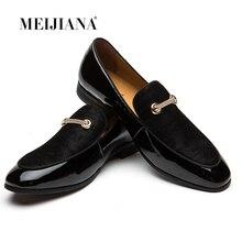 MEIJIANA Dress Loafers Retro Tassel Formal Shoes For Men Charming Men Footwear Brand Business Banquet Shoes