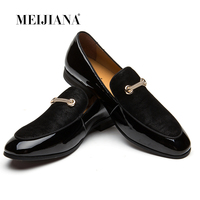 MEIJIANA Dress Loafers Retro Tassel Formal Shoes For Men Charming Men Footwear Brand Business Banquet Shoes