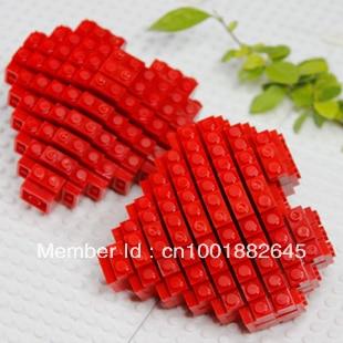 Blokker sett, Heart Gift for elskere, Valentine, Foreldre eller - Bygg og teknikk leker - Bilde 1