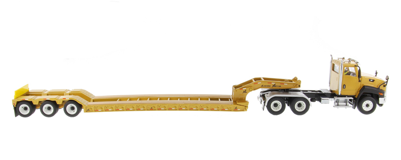 DM-85503C 1:50 гусеница CT660 день кабина с XL 120 низкопрофильный HDG Lowboy трейлер
