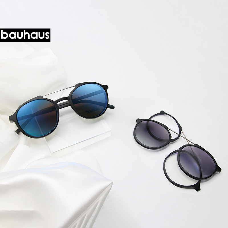 Bauhaus Magnetic Sunglasses Polarized Sunglasses Myopia Glasses Frame Five Color Fashion Optical ULTEM Eyewear