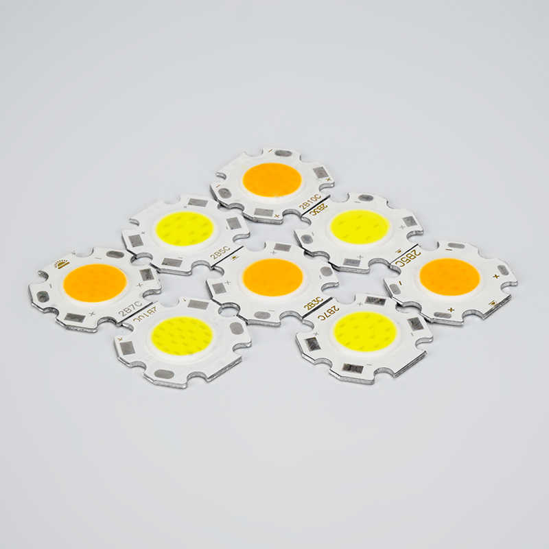 5PCS LED COB Chip 15W 12W 10W 7W 5W 3W High Power Lumen Lamp DC 9-50V For DIY Outdoor Floodlight Spotlight Cold White Warm White