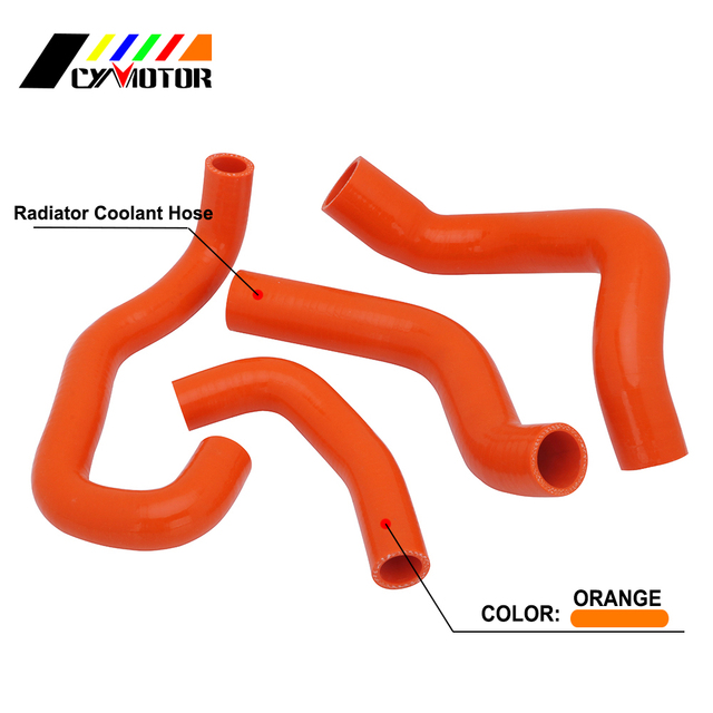 Motorcycle Accessories Silicone Radiator Coolant Hose Engine Cooling Water  For KTM 1050 Adventure 2015 2016