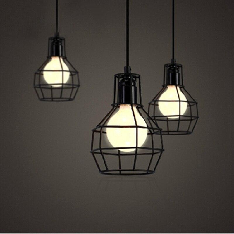 2pcs Lot Vintage Pendant Light Loft Industrial Bar Kitchen Home Decoration E27 Edison Light
