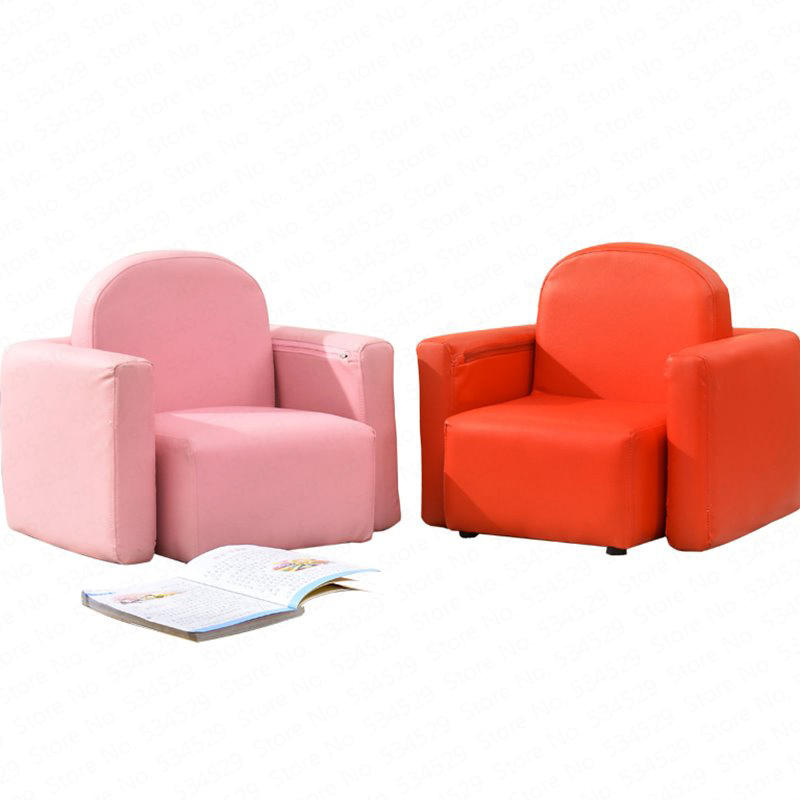 B Children's Sofa Cartoon Cute Princess Baby Sofa Chair Single Girl Mini Toddler Boy Learning Small Sofa