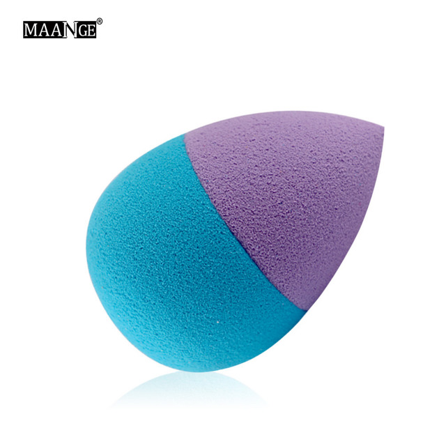 1pc double Colors Sponge Makeup Cosmetic Puff Make Up Blender Flawless for lady Cosmetic Puff 2