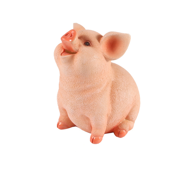 piggy bank piggy pig home resin craft ornaments money box piggy bank