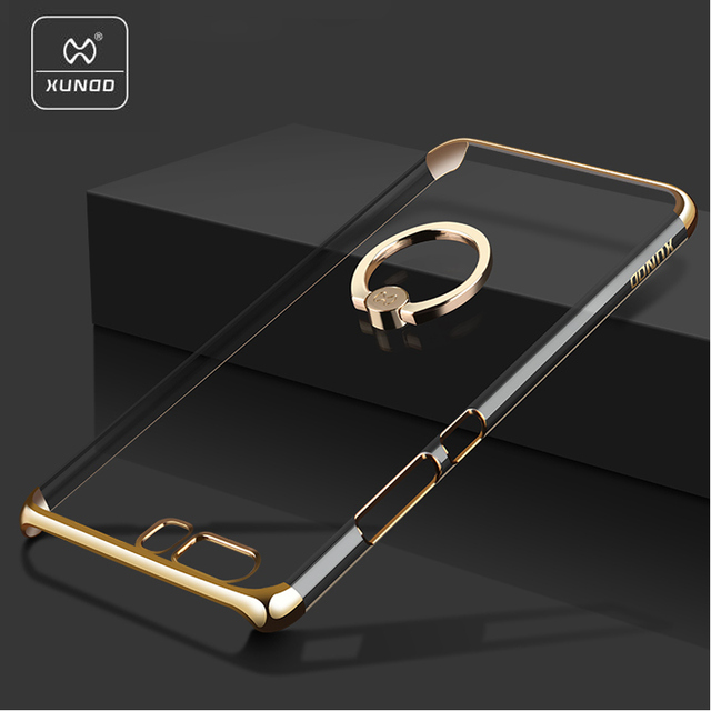 size 40 8b3db 42b0c US $11.41 |Xundd brand case For huawei p10 Luxury case cover Clear Hard PC  Back case For huawei p10 plus with Ring Holder drop shipping-in ...