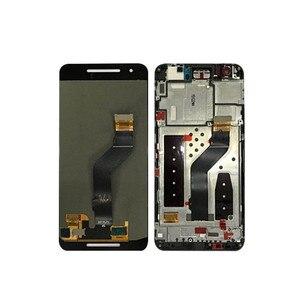 """Image 2 - 5.7 """"m & sen para huawei google nexus 6p tela lcd + painel de toque digitador com moldura para google nexus 6p exibição"""