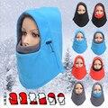 Inverno quente gorros de Lã chapéus para homens bandana crânio balaclava ski snowboard neck warmer máscara facial, Wargame Forças Especiais máscara